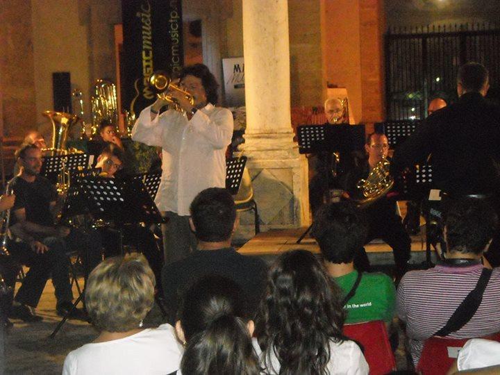 Sciacca 2013 - Suoni del Mediterraneo - Dirigendo A.Giuffredi e Brass Orchestra