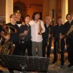 Sciacca 2013 - Suoni del Mediterraneo - con A.Giuffredi, E.Miceli e Brass Orchestra