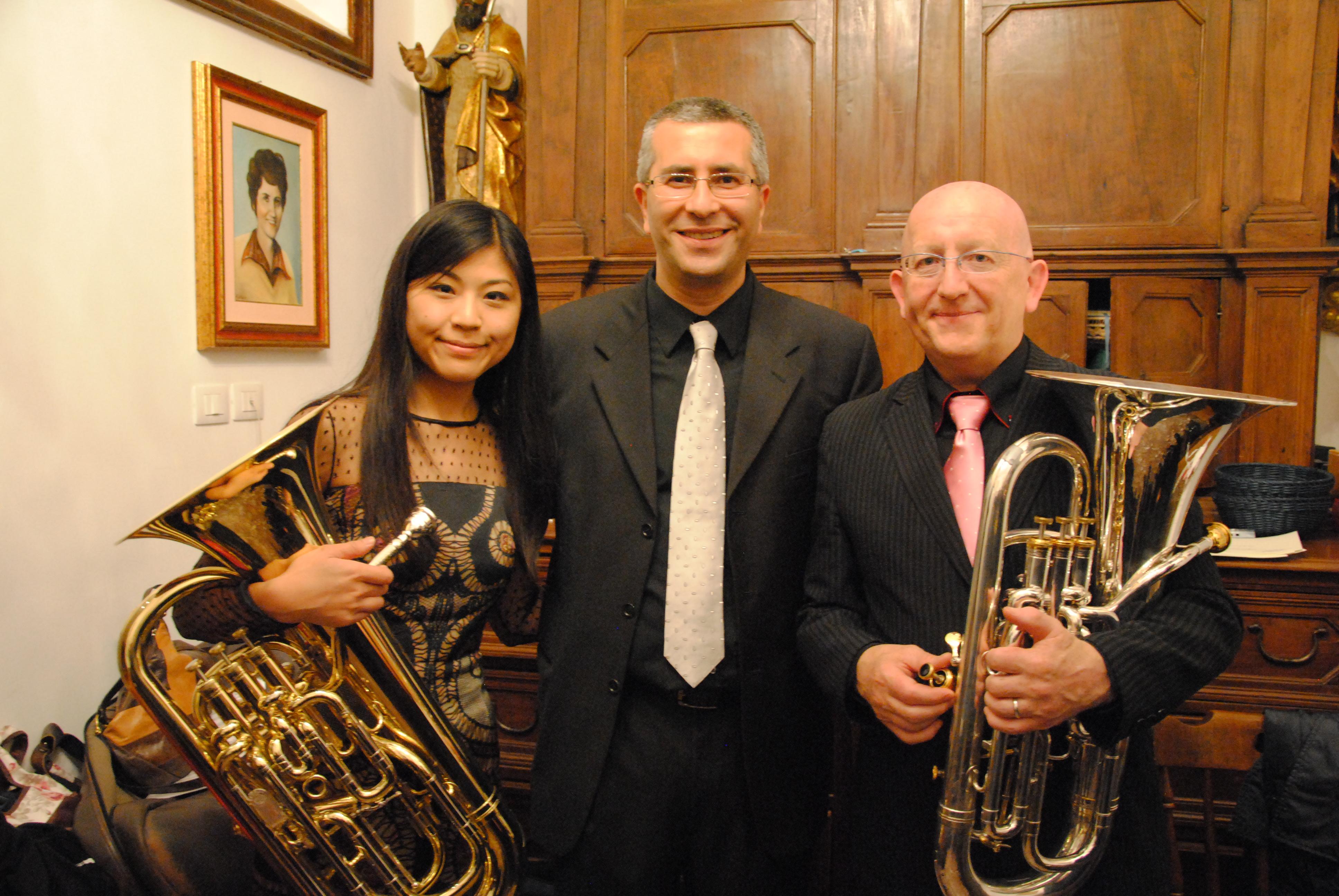 Maggio 2014 - con Steven Mead e Misa Mead