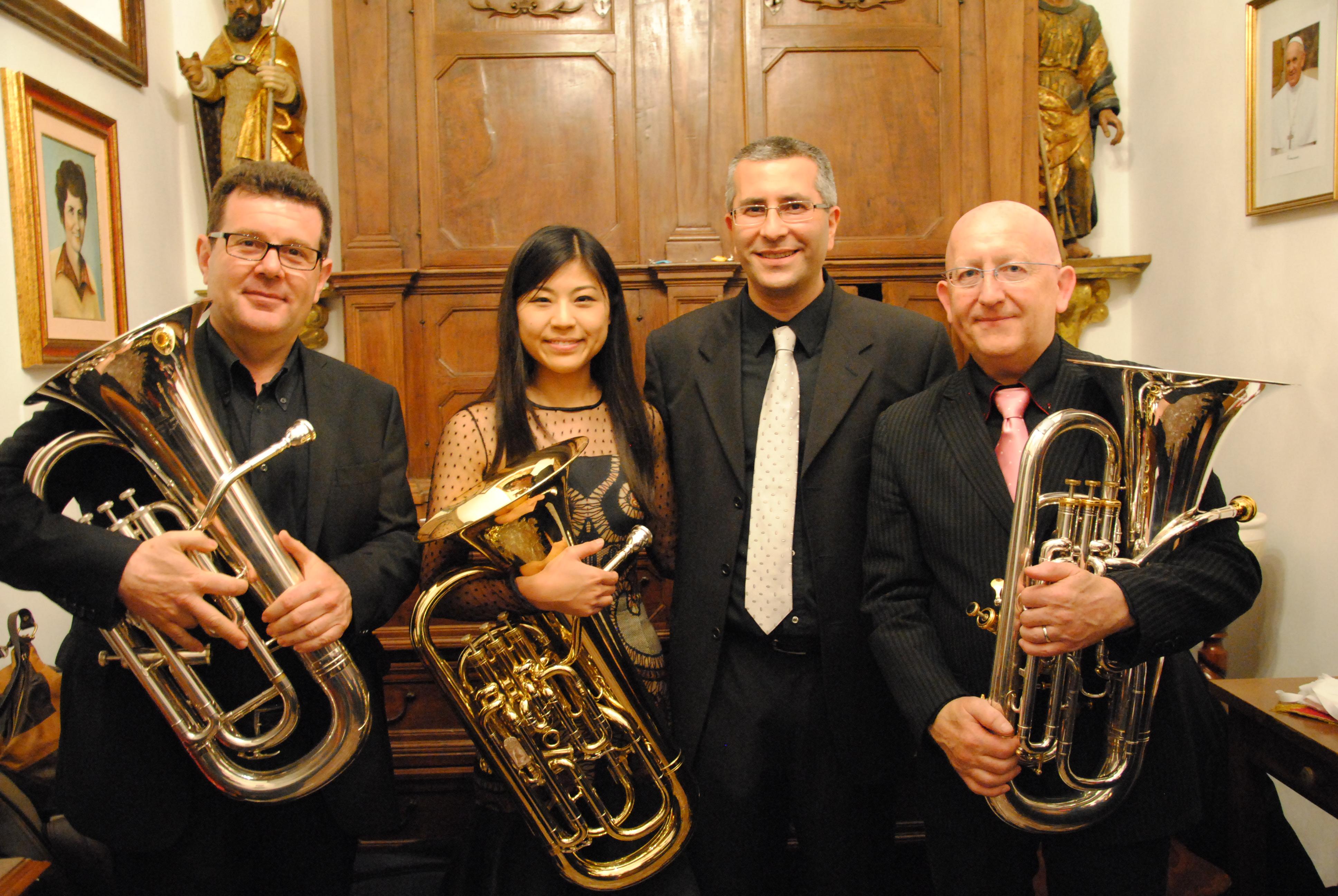 Maggio 2014 - con Steven Mead, Misa Mead e Francesco Tolentino